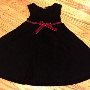 Sweet black velvet dress!